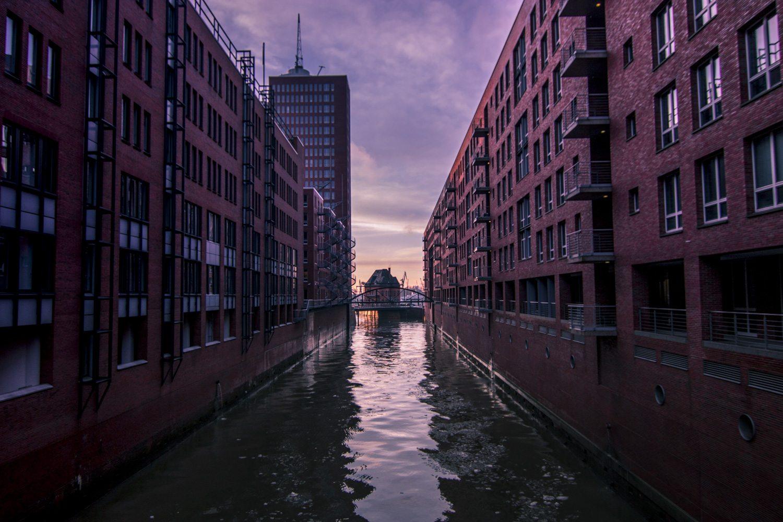Hamburg Speicherstadt Fleet